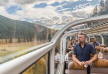 New Glass-Domed Train Offers Breathtaking Views From Colorado Rockies to Utah's Red Rocks